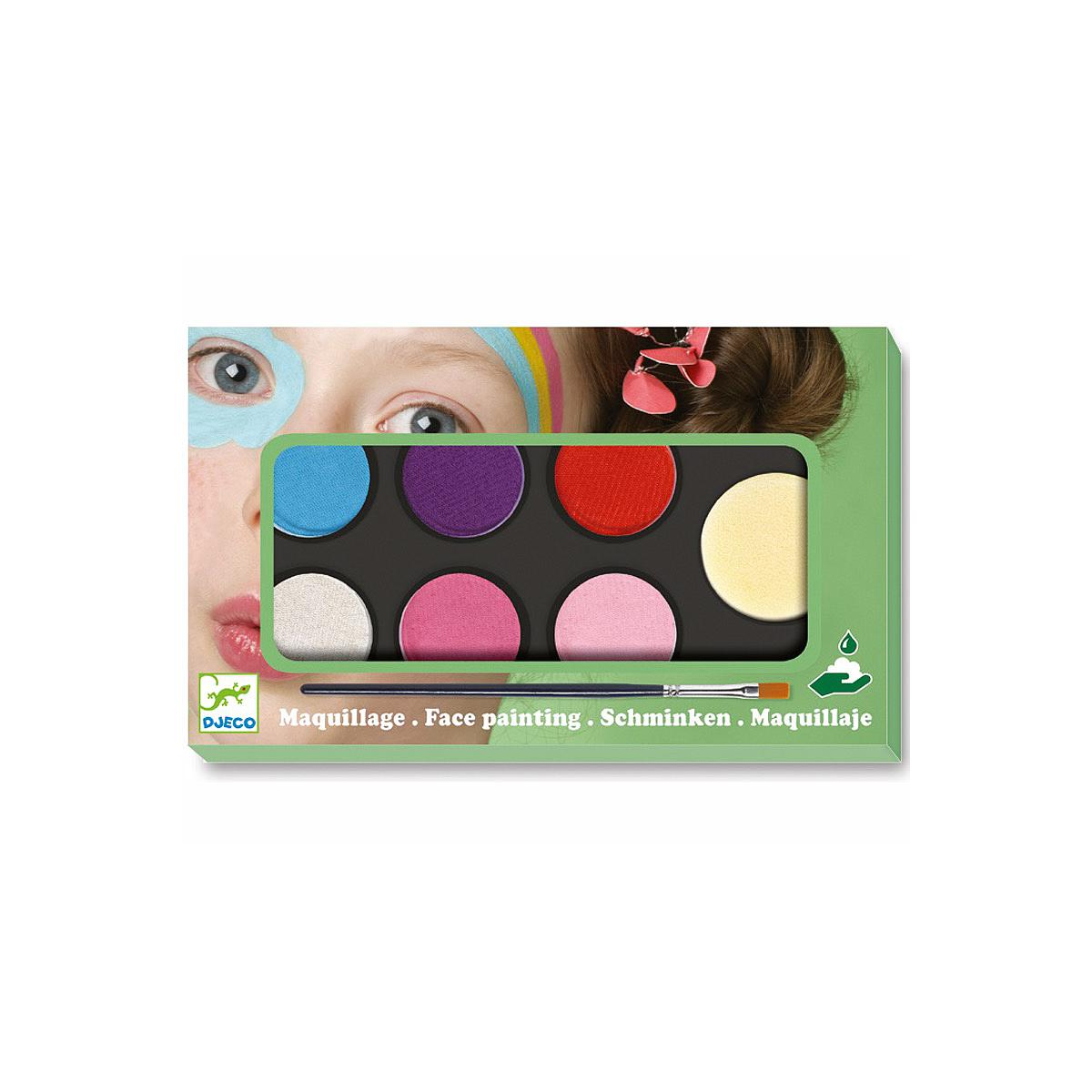6 palettes maquillage +3Y SWEET Djeco