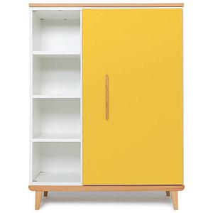Armoire 120cm 1 porte NADO sunshine yellow