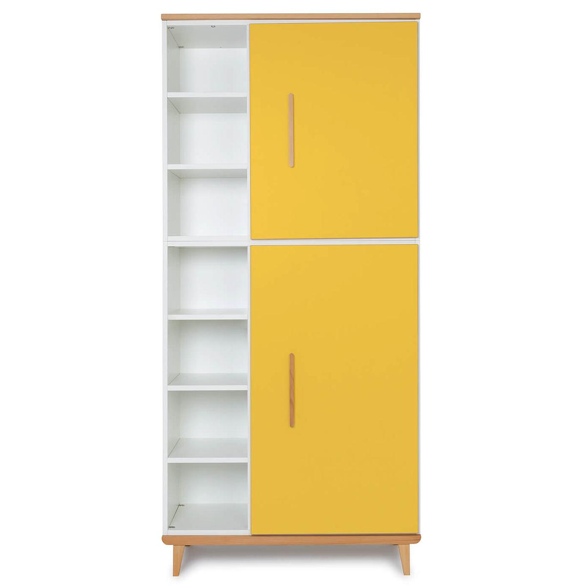 Armoire 198cm 2 portes NADO By A.K. sunshine yellow