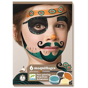 Coffret maquillage +3Y PIRATE Djeco