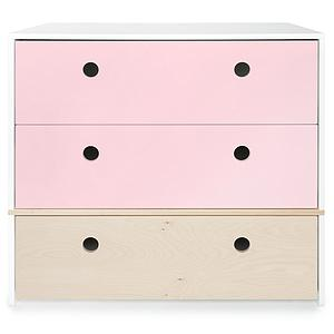 Commode COLORFLEX Abitare Kids façades tiroirs sweet pink-white wash