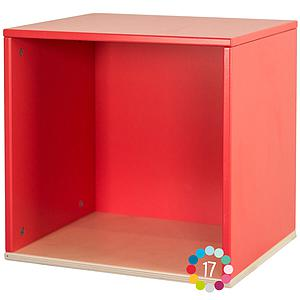 Cube mural COLORFLEX Abitare Kids true red