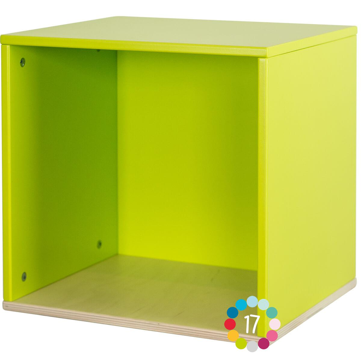 Cube mural COLORFLEX lime