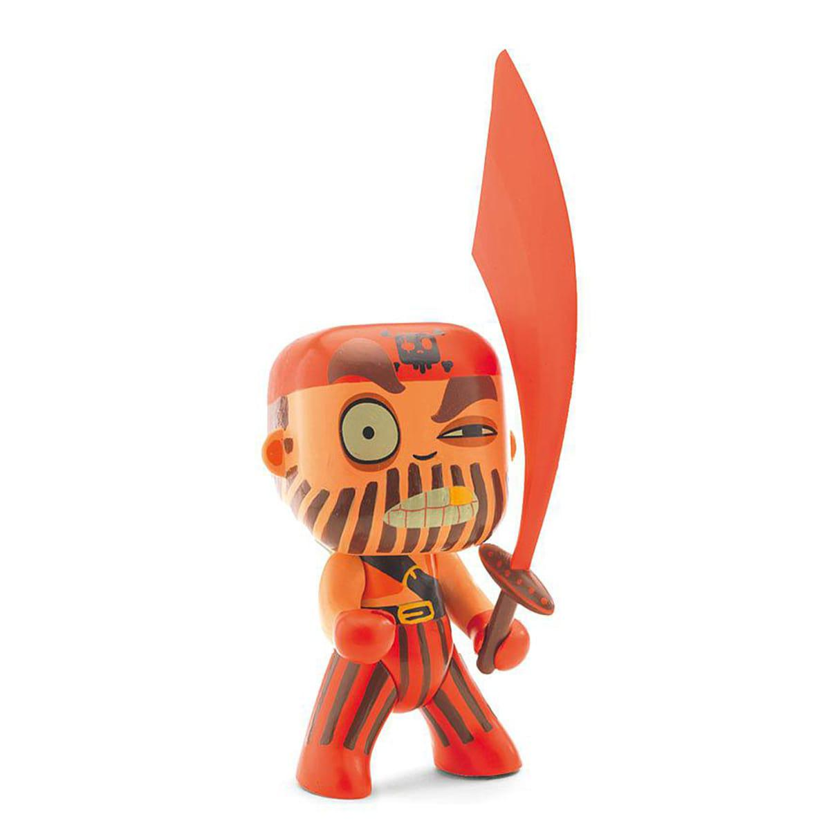 Figurine pirate ARTY TOYS CAPTAIN RED Djeco