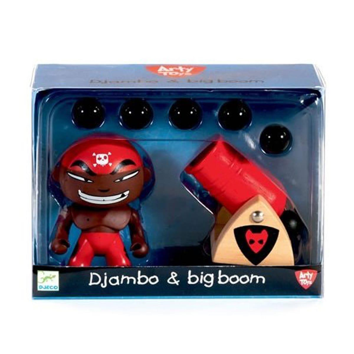 Figurine pirate ARTY TOYS DJAMBO & BIG BOOM  Djeco