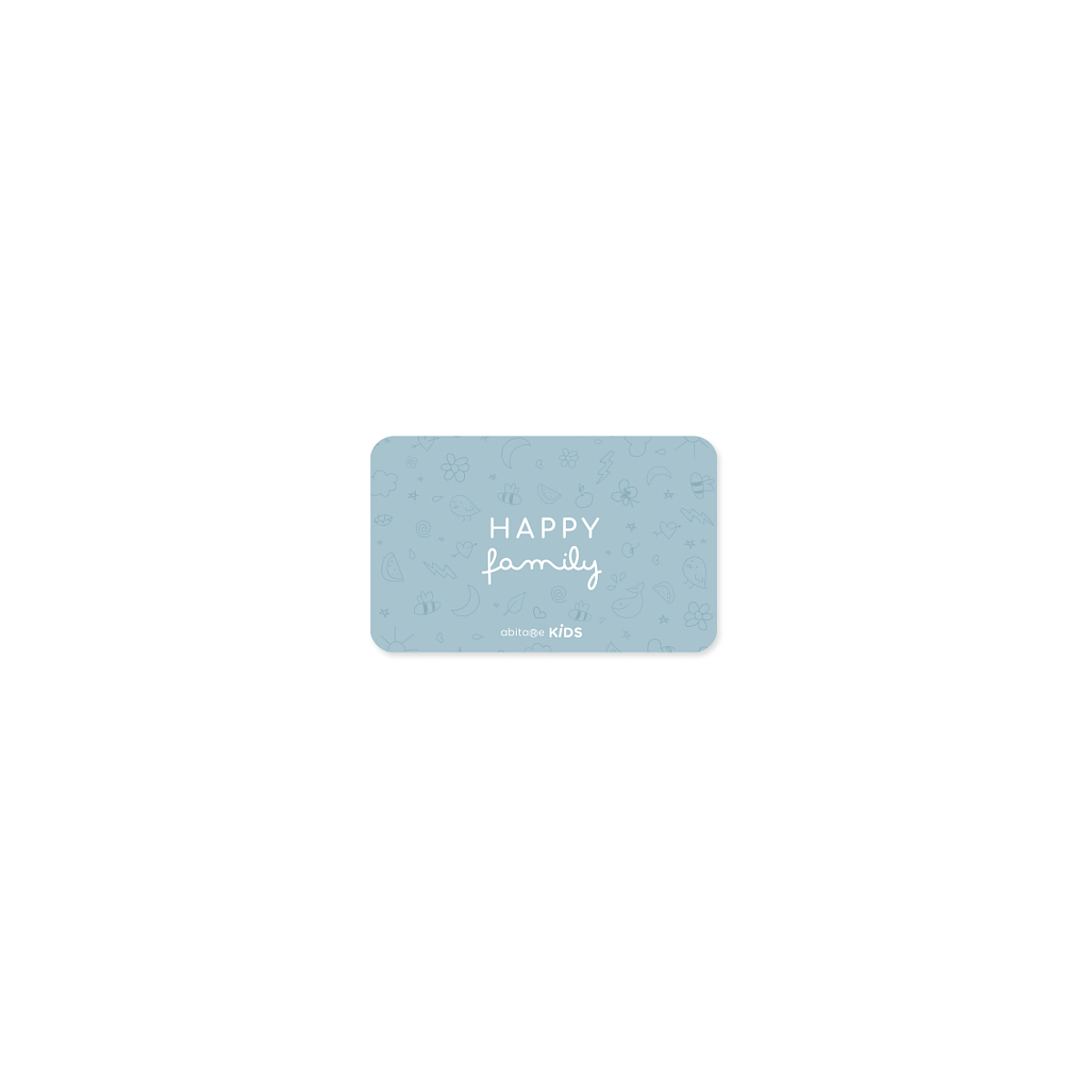 Happy Family Member Card LUX