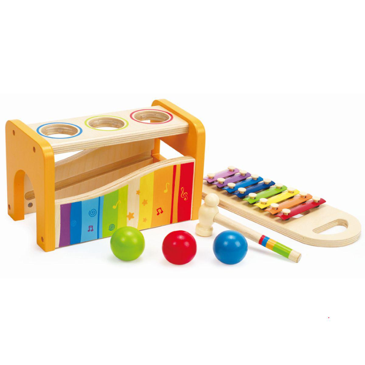 Instrument musique POUND AND TAP BENCH Hape