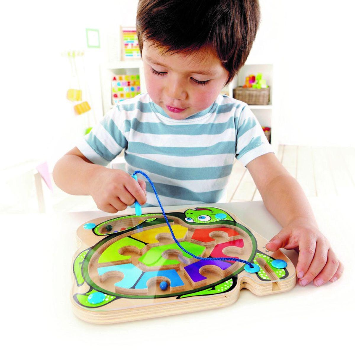 Jeu éducatif labyrinthe COLORBACK SEA TURTLE Hape
