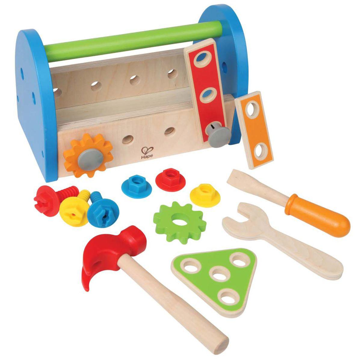 Jeu imitation caisse à outils FIX IT TOOL BOX Hape