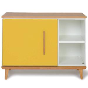 Petit meuble 1 porte NADO sunshine yellow