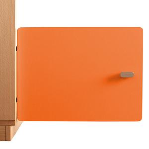 Porte armoire 35cm DESTYLE De Breuyn orange