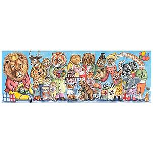 Puzzle gallery 100pcs +5Y KING'S PARTY Djeco