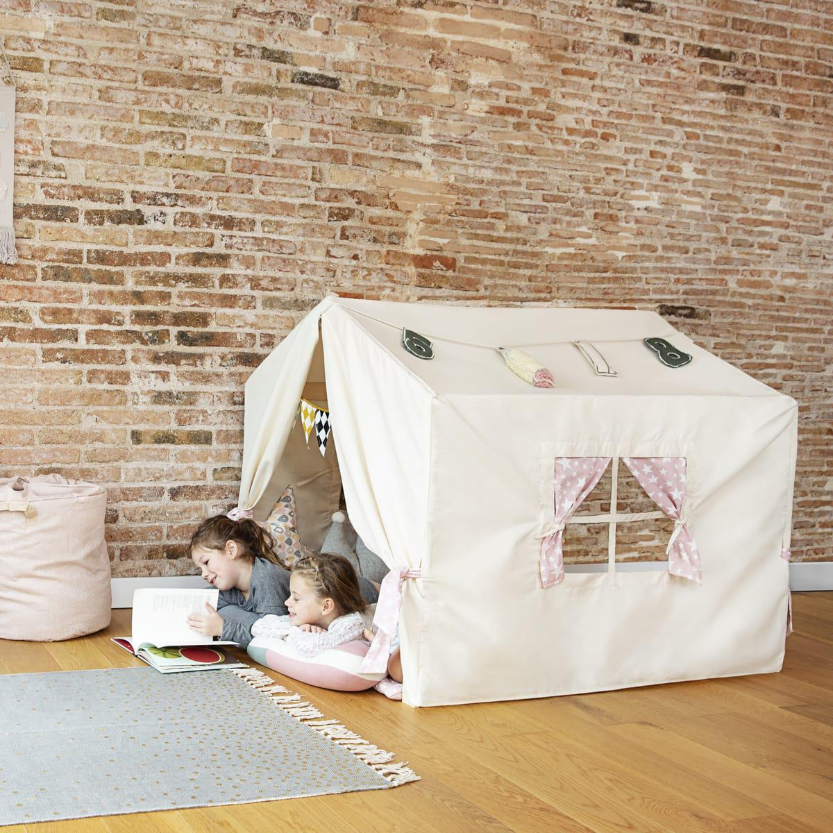 Textile habillage cabane PLAYHOUSE By A.K. rose